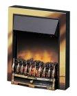 Dimplex Wynford Brass 2kW Optiflame®  Inset Electric Fire